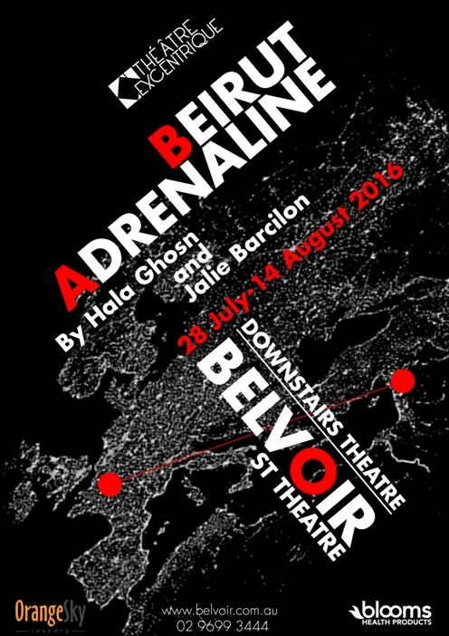 Poster_Beirut Adrenaline_Theatre Excentrique